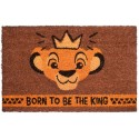 Felpudo El Rey Leon Simba Born to be a King