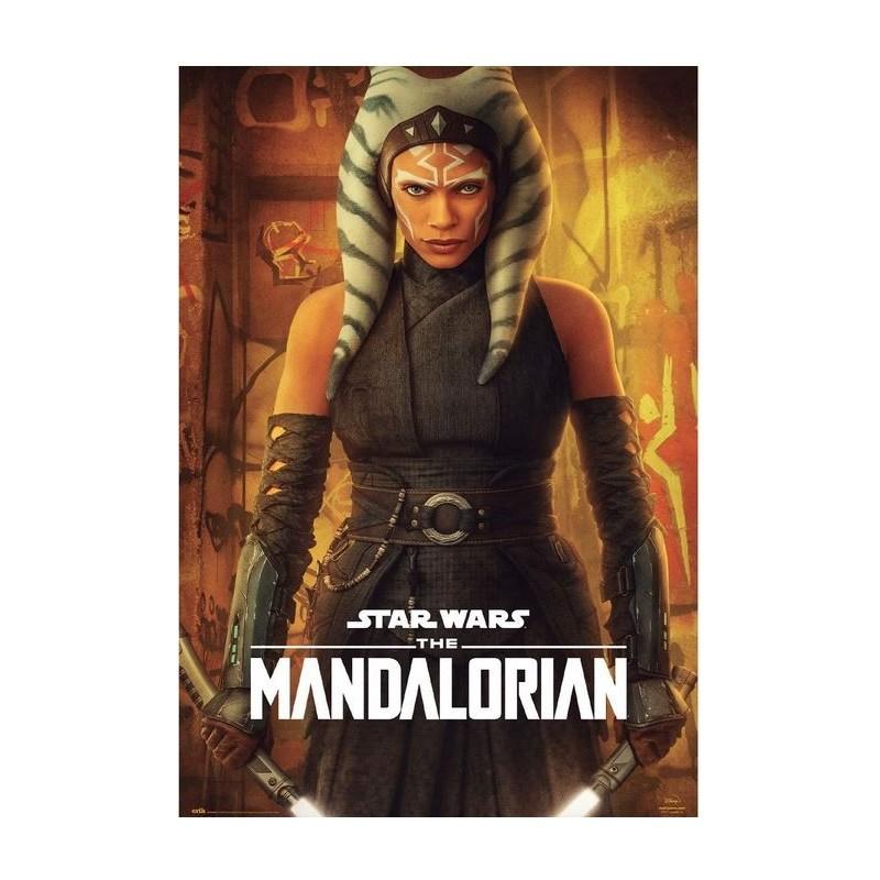Póster Star Wars The Mandalorian Ashoka