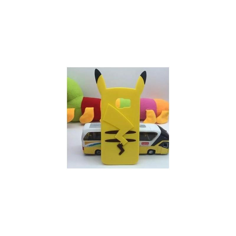 Funda 3D Samsung Galaxy S6 de Pikachu