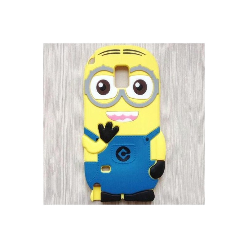 Funda 3D Samsung Galaxy Note 4 de Minion
