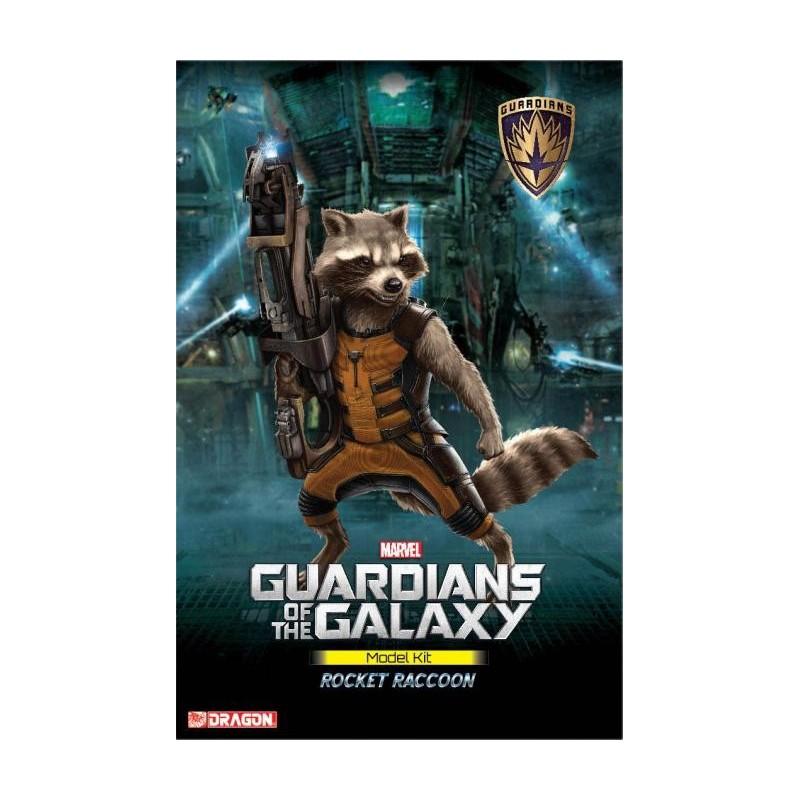 Guardianes de la Galaxia Maqueta Rocket Raccoon