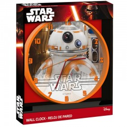 Reloj de Pared de Star Wars - BB8