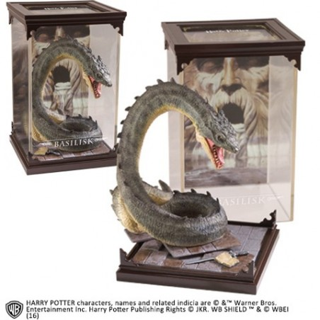 Figura de Harry Potter - Basilisco Criaturas Mágicas