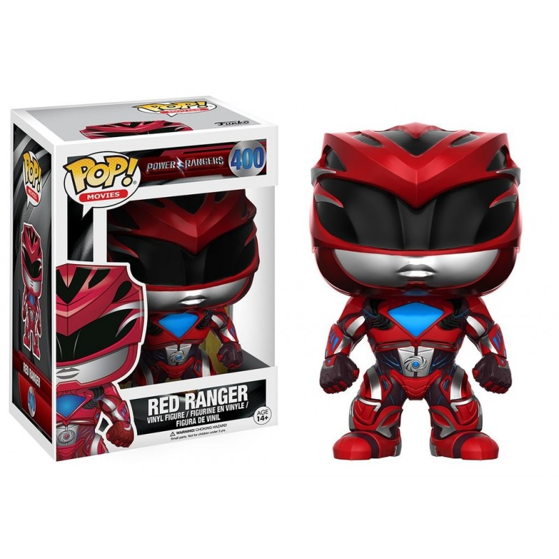 POP! TV: Power Rangers La Película - Red Ranger