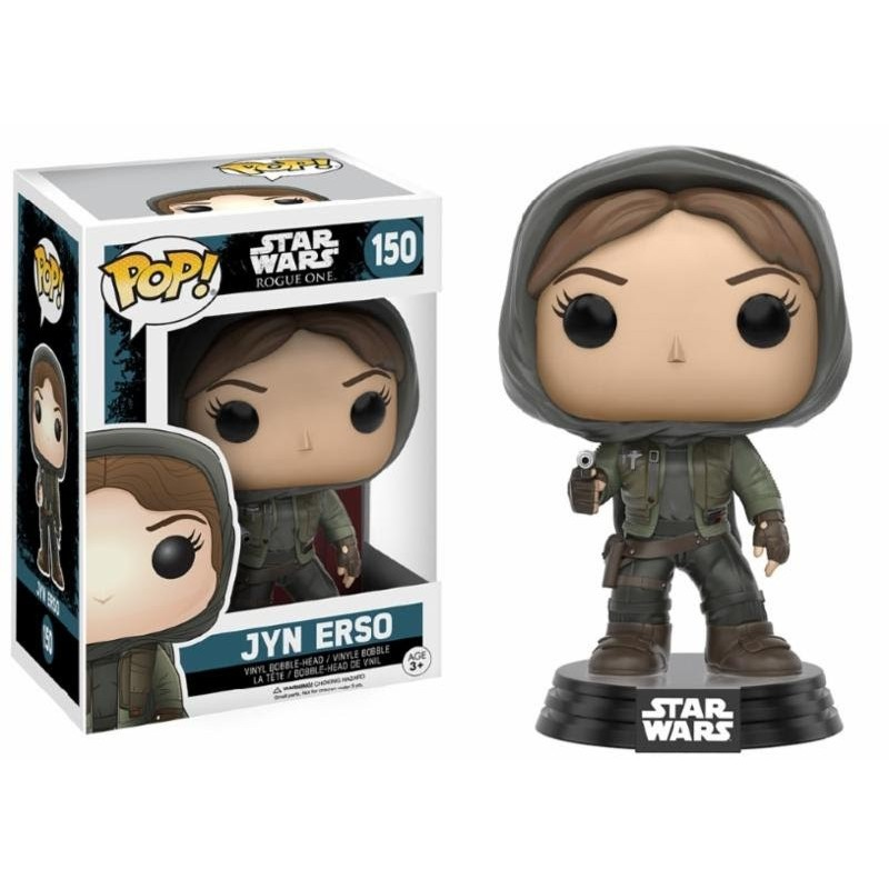 POP! Star Wars Rogue One - Jyn Erso Hooded