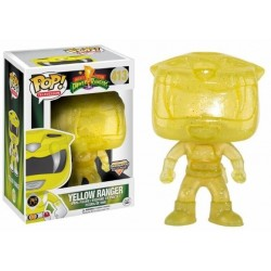 POP! Power Rangers: Yellow Ranger Teletransportandose