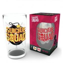 Vaso De Cristal Escuadrón Suicida: Bomba