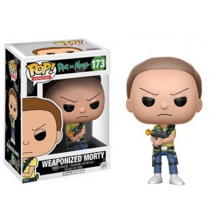 POP! Rick And Morty: Weaponized Morty