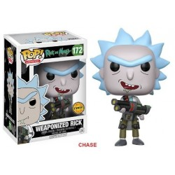 POP! (Chase) Rick And Morty: Weaponized Rick