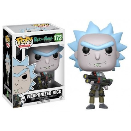 POP! Rick And Morty: Weaponized Rick