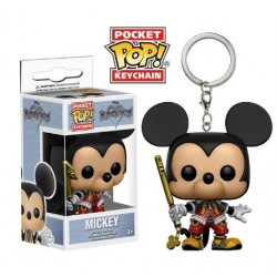 POP! Llavero: Kingdom Hearts - Mickey