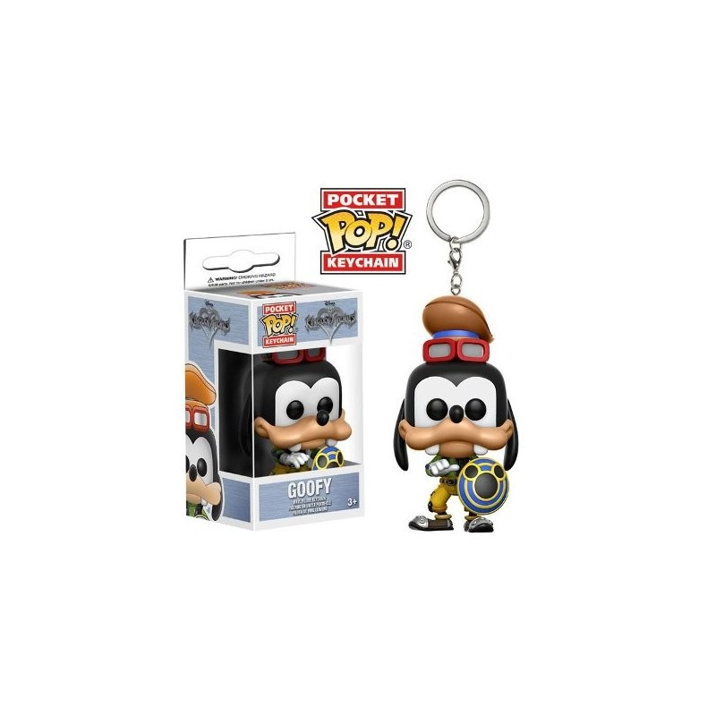 POP! Llavero: Kingdom Hearts - Goofy