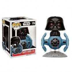 POP! Star Wars: Darth Vader Con Tie Fighter