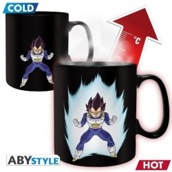 Taza Térmica De Dragon Ball: Vegeta y Shenron