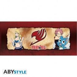 Taza De Fairy Tail: Natsu, Happy y Lucy