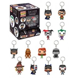 Mini Llavero Sorpresa De Funko - Batman Animated