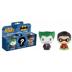 Pack De Figuras Pint Sized: Joker, Robin Y Sorpresa