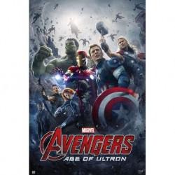 Póster Los Vengadores: Era De Ultron