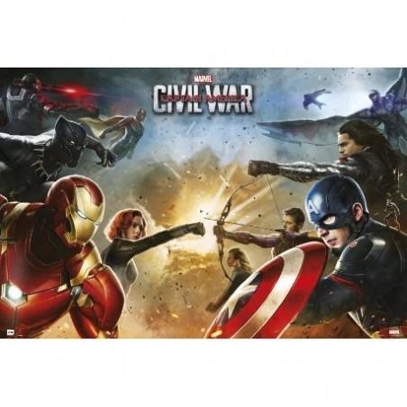 Póster Capitán América Civil War