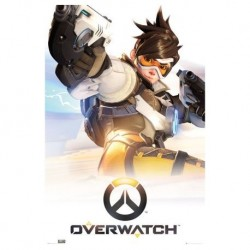 Póster Overwatch: Tracer
