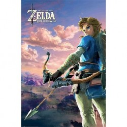 Póster Zelda Breath Of The Wild