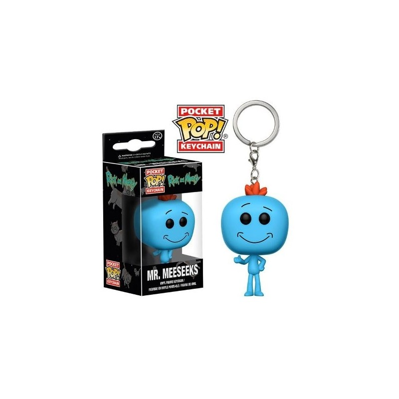 POP! Llavero: Rick And Morty - Mr Meeseeks