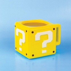 Taza 3D De Super Mario: Question Block