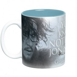 Taza De Juego De Tronos: You Know Nothing Jon Snow