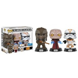 POP! Star Wars: Tarfful, Unhooded Emperor, Utapau Clone Trooper