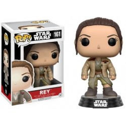 POP! Star Wars: Rey Con La Chaqueta De Finn