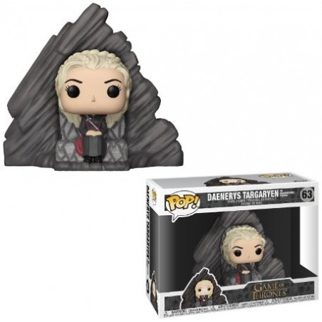 POP! Juego de Tronos: Daenerys On Dragonstone Throne