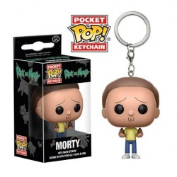 POP! Llavero: Rick & Morty: Morty