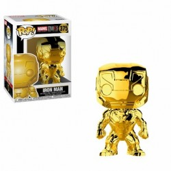 POP! Marvel Studios 10 - Iron Man Cromado