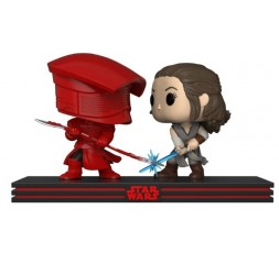 POP! Star Wars: Rey y Praetorian Guard