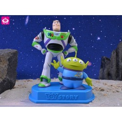 Figura Toy Story - Buzz Lightyear con Aien
