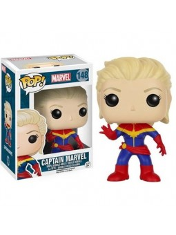POP! Captain Marvel Unmasked