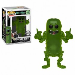 POP! Rick And Morty: Pickle Rick Translúcido