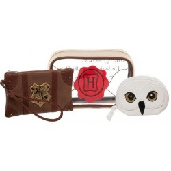 Pack Regalo de Harry Potter: Monedero y Neceser