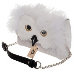 Bolso de Harry Potter: Hedwig con pelitos
