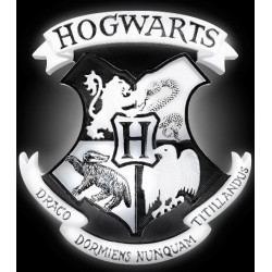 Lámpara de Harry Potter: Escudo Hogwarts