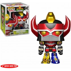 "POP! Power Rangers: 6"" Megazord Metallic"