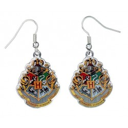 Pendientes de Harry Potter: Logo Hogwarts