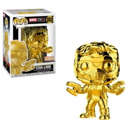 POP! Marvel Studios 10 - Star Lord Cromado