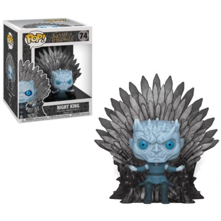 POP! Juego de Tronos: Night King Sitting on Throne