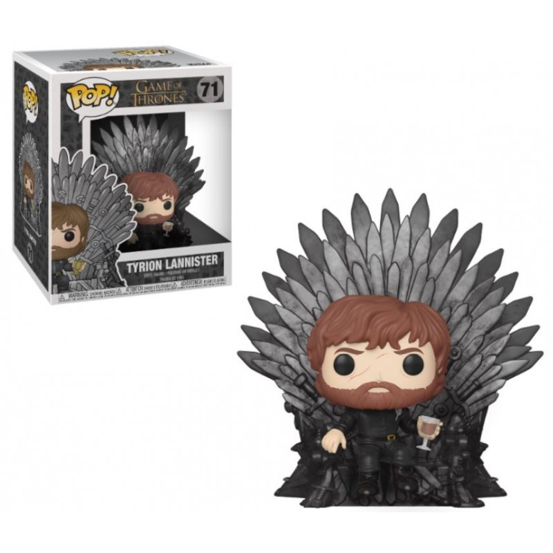 POP! Juego de Tronos: Tyrion Sitting on Throne
