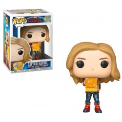 POP! Marvel: Captain Marvel con Tesseract