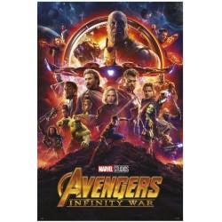 Póster Los Vengadores Infinity War