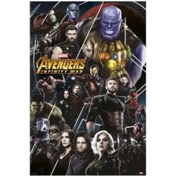 Póster Los Vengadores Infinity War 2