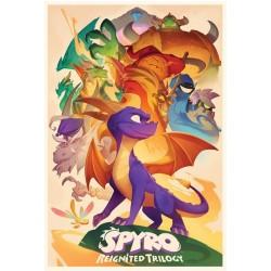 Póster Spyro Trilogy