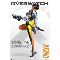 Póster Overwatch: Tracer Cheers Love